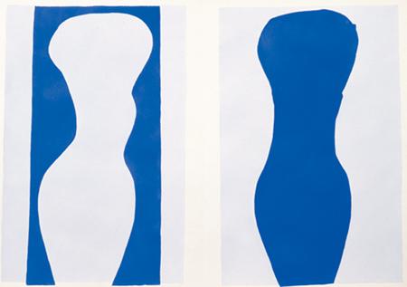 画像: アンリ・マティス《「ジャズ」9 形態》1947年 所蔵:神奈川県立近代美術館