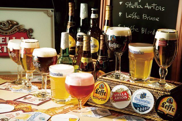 画像1: オープンエアのベルギービールビアガーデン