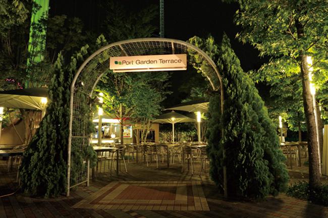 画像2: オープンエアのベルギービールビアガーデン