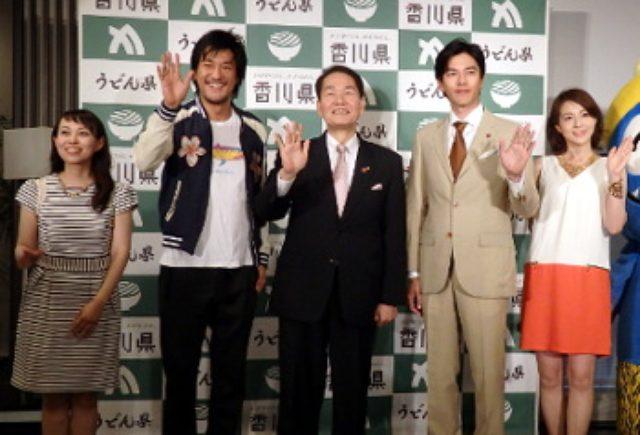 画像: 要潤が香川県PR「愛にきてうどん県」