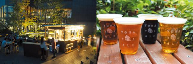 画像: 緑を感じる 自然派ソト飲み 【表参道】人気のクラフトビールと限定メニューが楽しめる