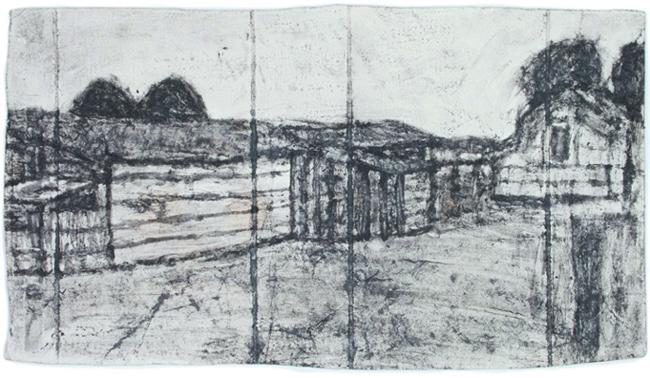 画像: Untitled, Found paper, soot, ©James Castle Collection and Archive LP Courtesy of Tomio Koyama Gallery