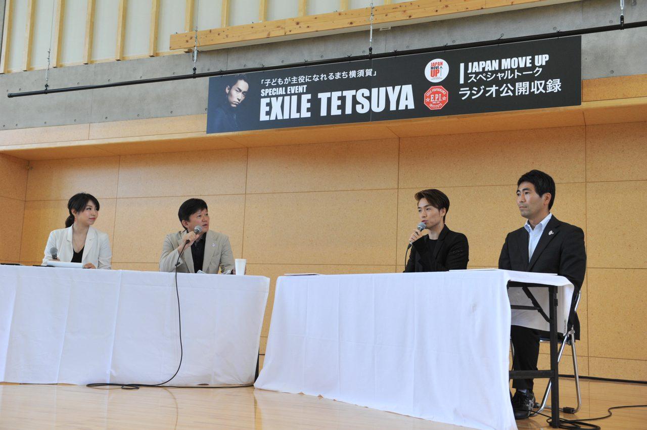 画像3: EXILE TETSUYA 横須賀でトークショー&ダンスレッスン