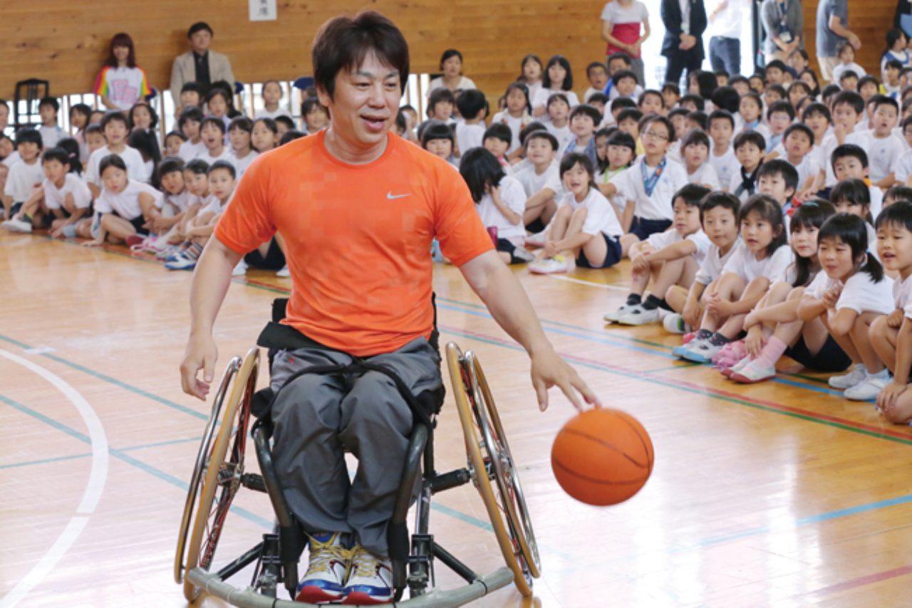 画像: パラリンピアン・根木さんの「車椅子バスケ」基礎講座