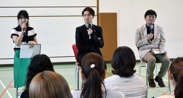画像: EXILE TETSUYA 淑徳大学 客員教授としての最後の授業