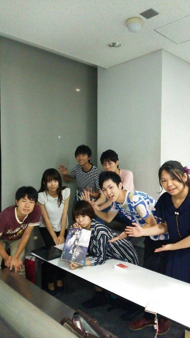 画像: 木原さんありがとうございました!木原実優さんと参加したTEAM2020学生メンバーで集合写真。