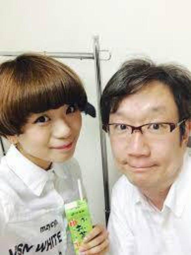 画像: 木原実優さんと彼女のお父様の実さん