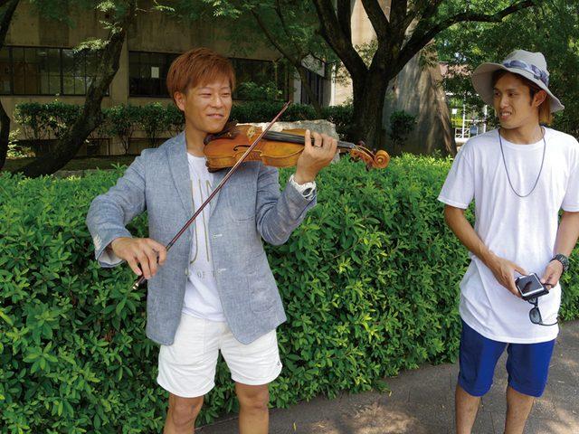 画像: on Starting Point — SHOGOのはじまり — 「あれだってバイオリンを指差した!」