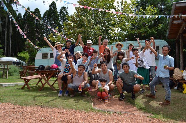 画像: TEAM2020学生メンバーは今回 8月23日にファーミングに参加。 今回はスイカ、ピーナッツカボチャを収穫