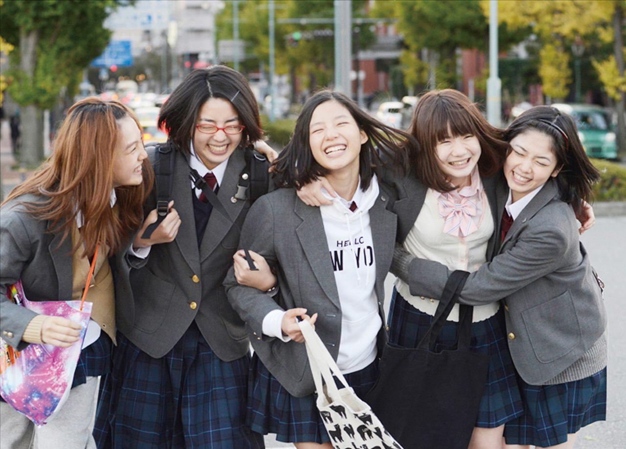画像: ©宇山佳佑/集英社 ©2015「ガールズ・ステップ」製作委員会