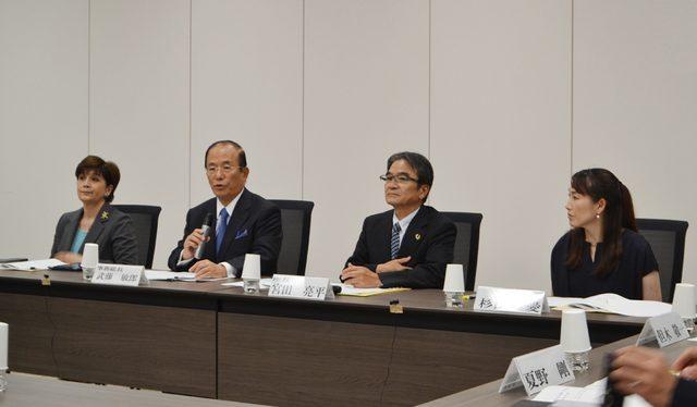 画像: 東京2020エンブレム選考に向けた準備会を開催