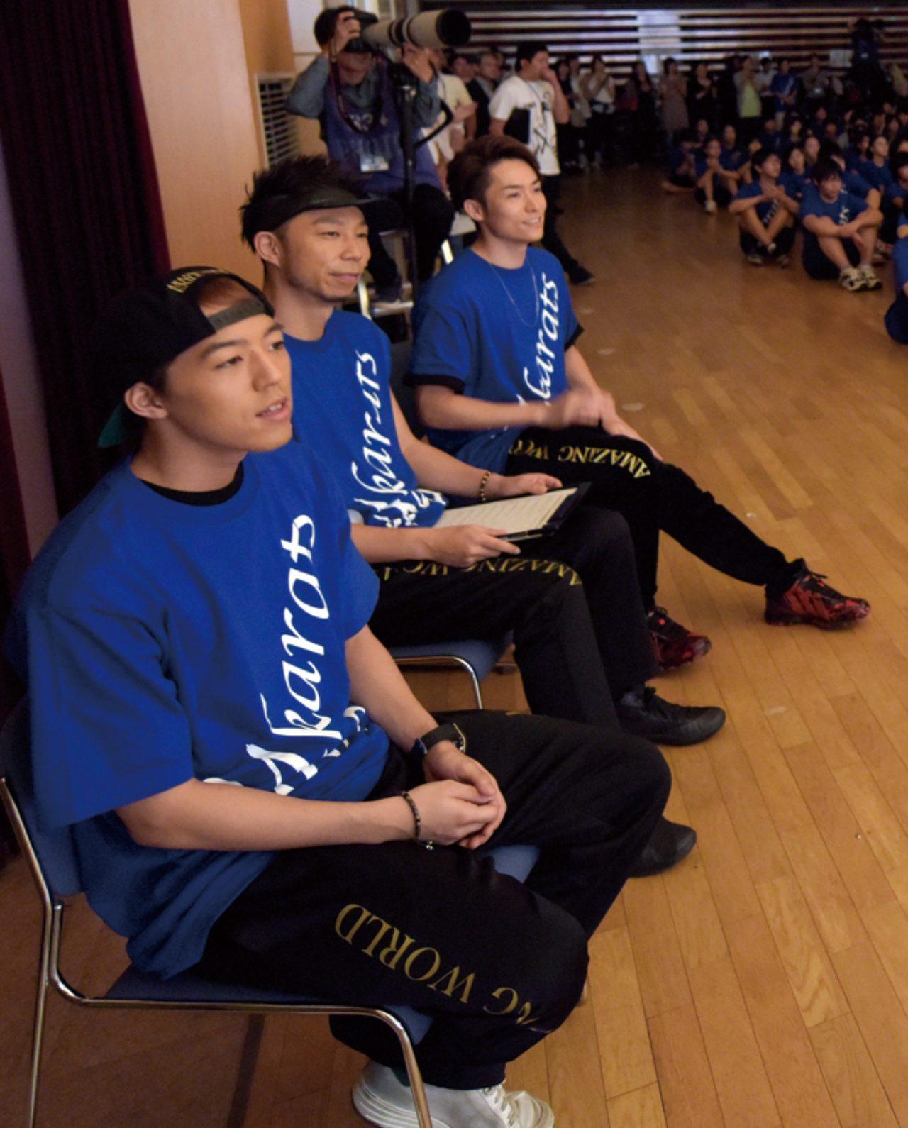 画像2: 中学生Rising Sun Project 各校発表会にはサプライズでEXILEのメンバーが!