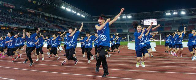 画像: 「中学生Rising Sun Project〜夢の課外授業SPECIAL2015〜」横浜・日産スタジアムにて開催