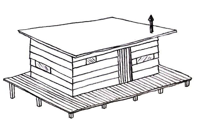 画像: 10/30日から無印良品が計画する新しい「小屋」のプロジェクトを展示