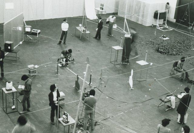 画像: 『映像表現 '72』展(1972年、京都市美術館)会場風景 photo: 松本正司