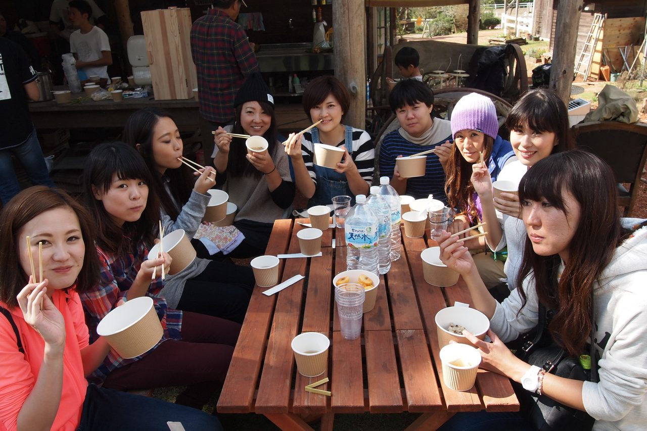 画像2: 青空ごはんは「キノコ入り栗ごはん」「けんちん汁」+α!?