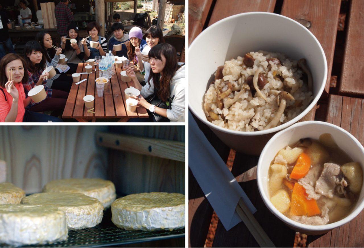 画像2: 食欲全開!秋の味覚に舌鼓Farming Garden in 生命の森リゾート イベントリポート