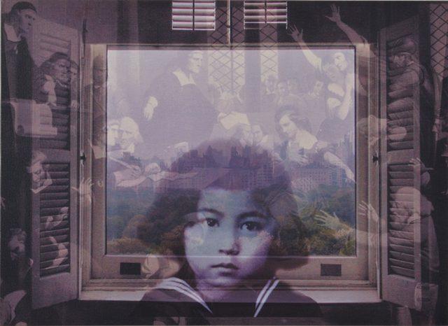 画像: オノ・ヨーコ《FROM MY WINDOW: Salem1692》 2002年  個人蔵 ©YOKO ONO 2015