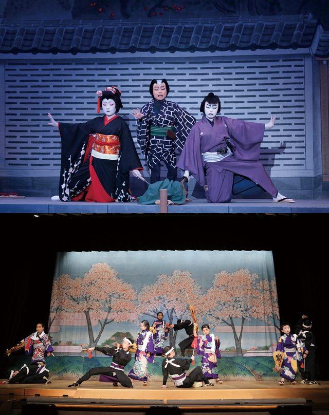 画像: NPO法人 日本伝統芸能振興会が小中学生を対象に行っている「こども歌舞伎」では、オーディションを経て参加した子供たちが所作から日本舞踊、立ち回りなど本格的な稽古を重ね、歌舞伎の人気演目に挑戦。写真は『白浪五人男』『三人吉三』