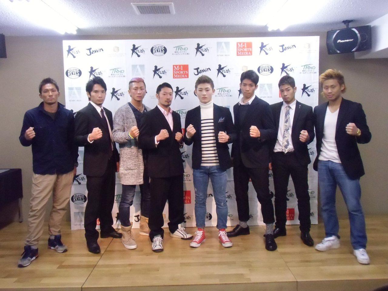 画像: 左から眞暢、佐々木大蔵、泰斗、原田ヨシキ、平本蓮、早坂太郎、東本央貴、南野卓幸