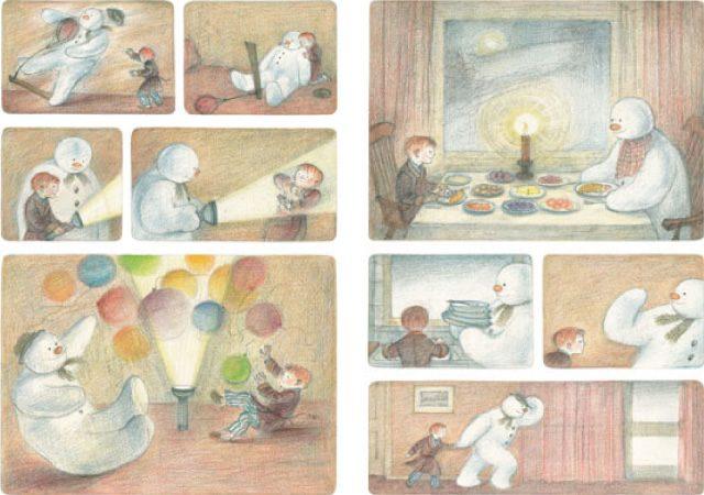 画像: 絵本原画からアニメまで スノーマン展 - 展覧会&ギャラリー | 松屋銀座