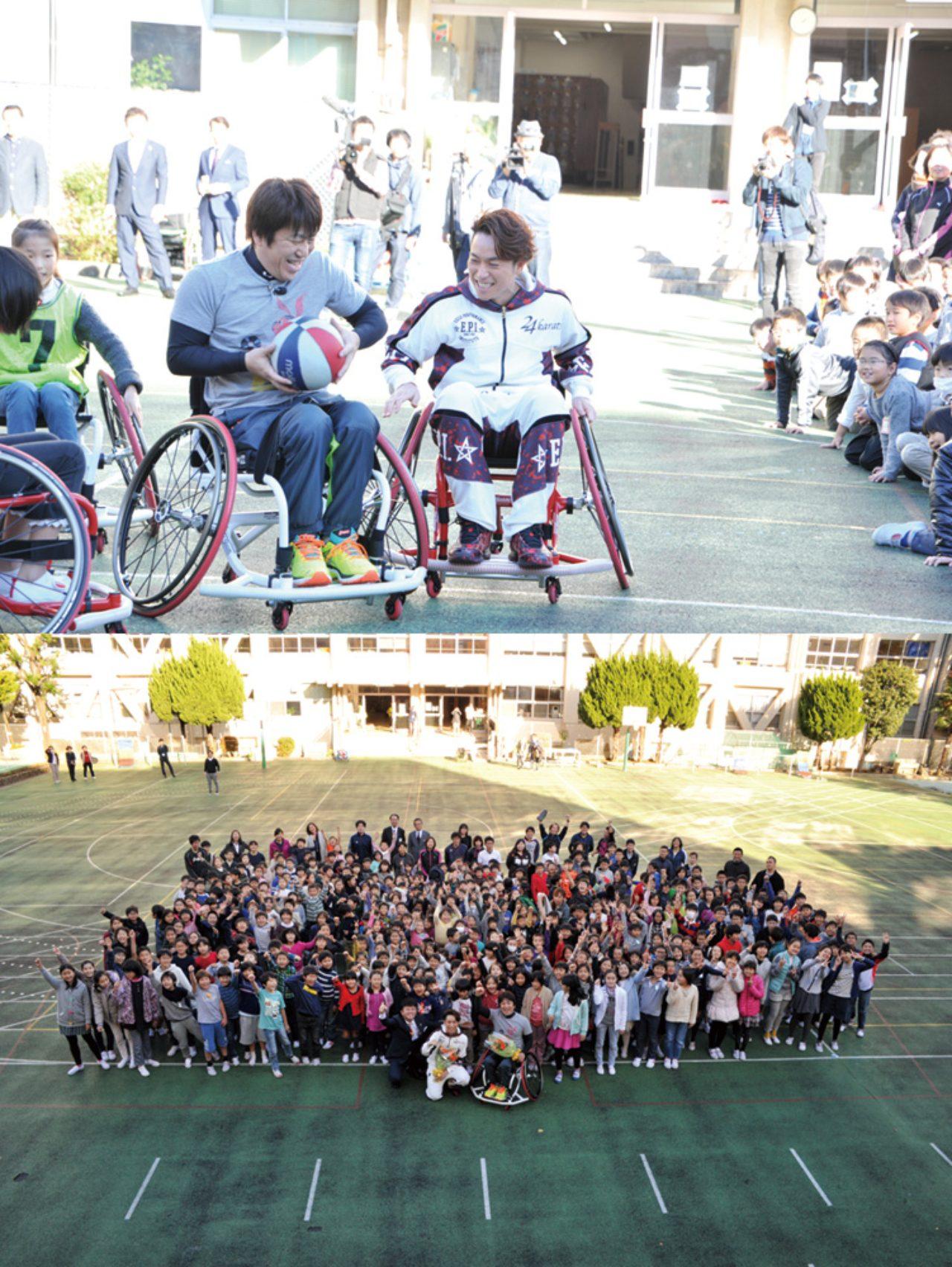 画像2: 【夢の課外授業リポート】 EXILE TETSUYAと子どもたちが車椅子バスケに挑戦