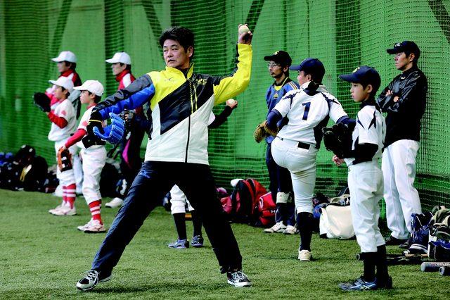 画像: 現役選手から子供たちに直々指導