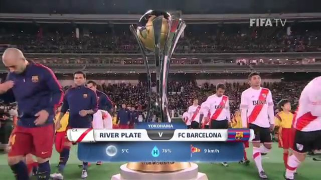 画像: FINAL Highlights: River Plate vs Barcelona - FIFA Club World Cup Japan 2015 youtu.be