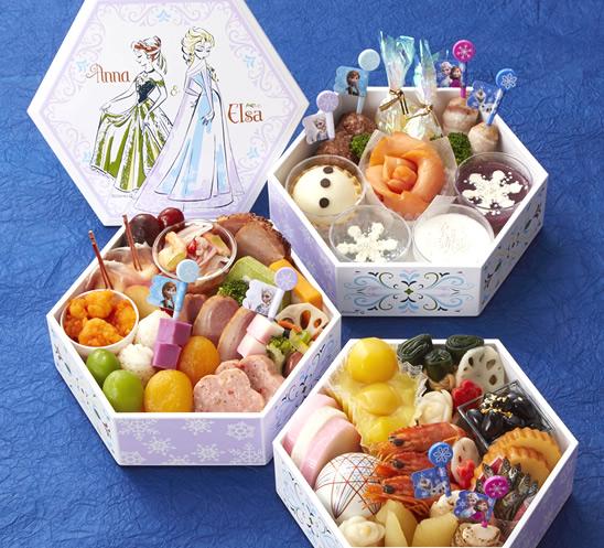 画像: アナと雪の女王・三段重 monthly.bellemaison.jp
