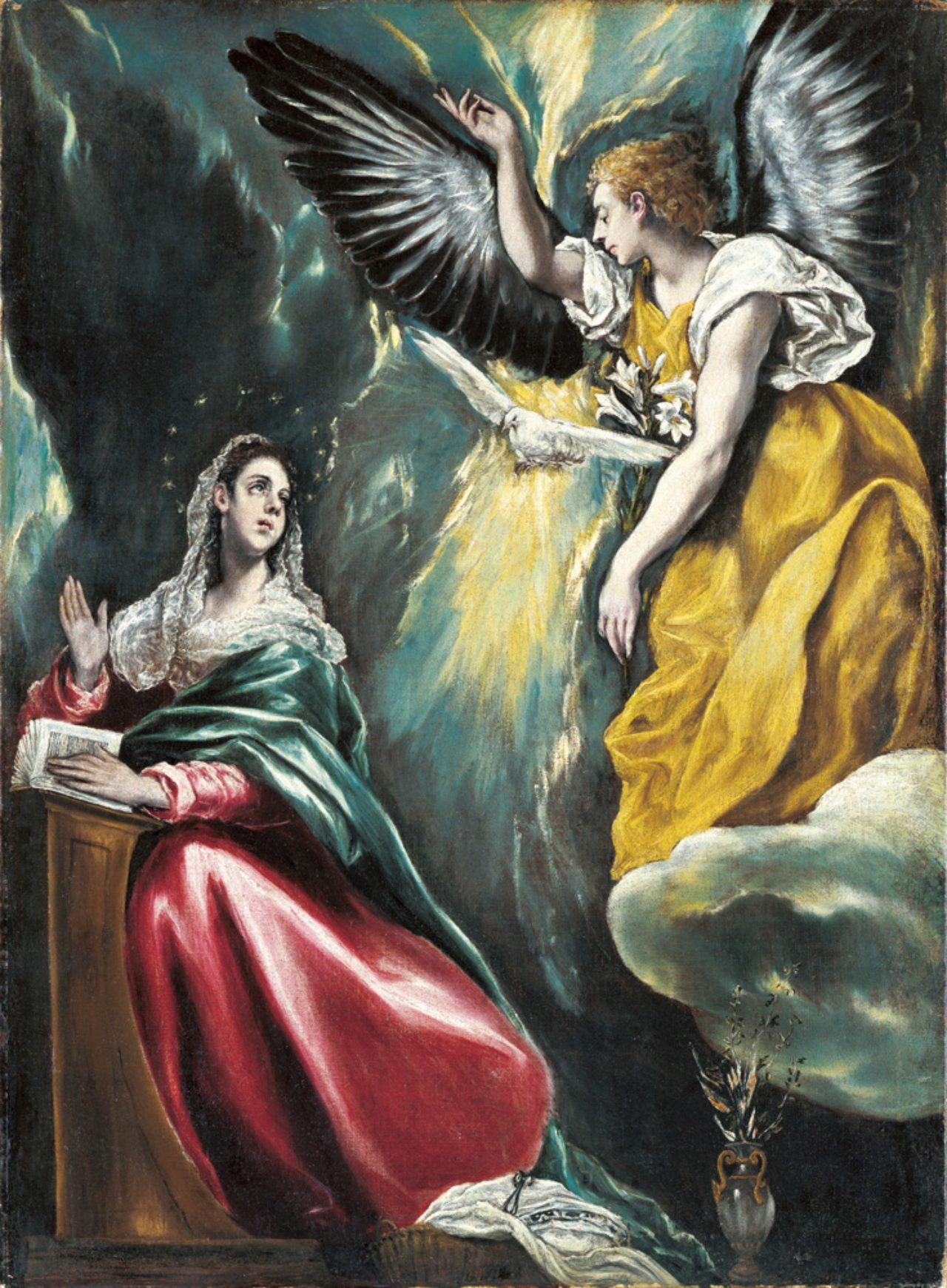 画像: エル・グレコ 《受胎告知》 1590年頃−1603年