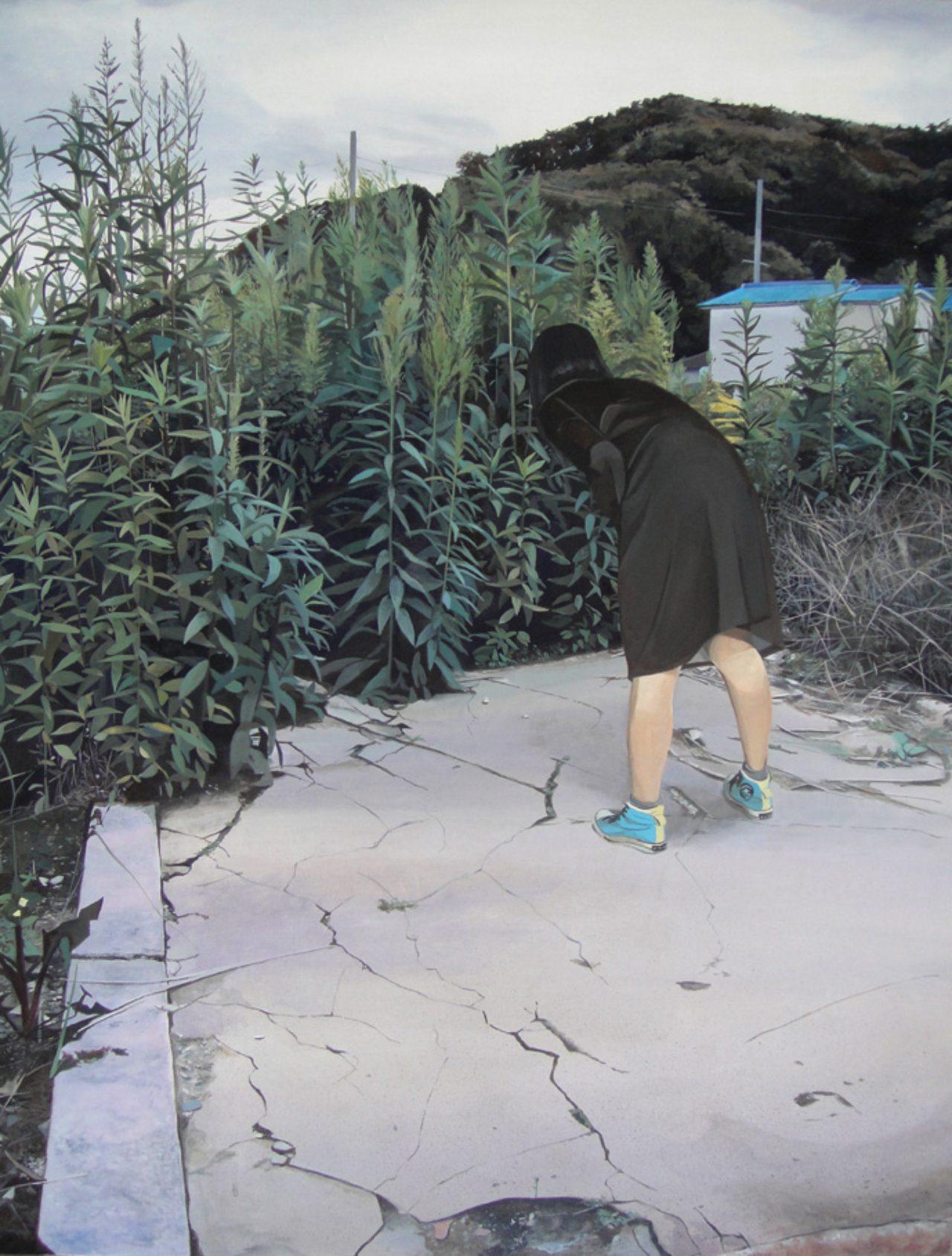 画像: 八太栄里《さがす》2015
