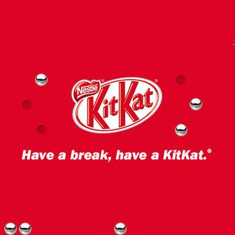 画像: キットカットのスローガン