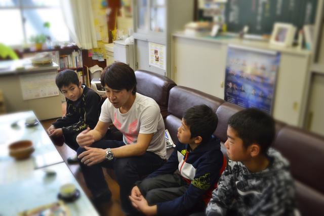 画像1: 【夢の課外授業】ボリューム満載の授業に子どもも先生も大満足。水内猛先生