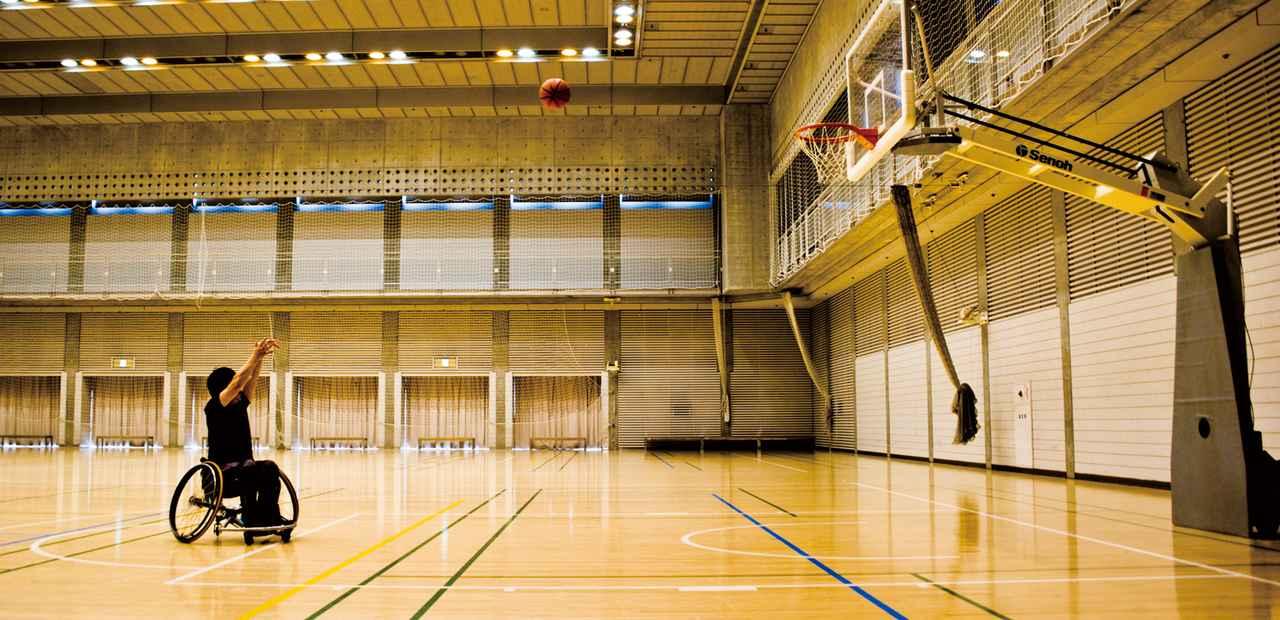 画像: 車椅子バスケットボールとの出会い