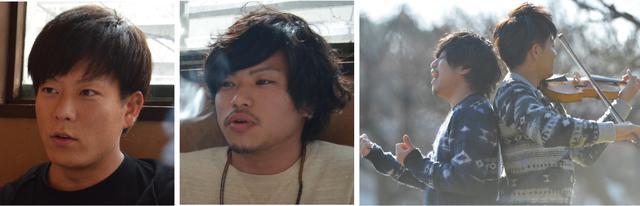 画像: 写真左よりSHOGO、SolLA