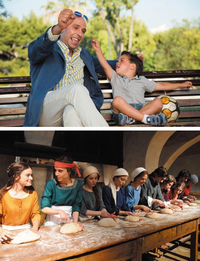 画像: 【写真上】『オレはどこへ行く?』本国で歴代トップのヒットを記録したコメディー(上映:4/30、5/5) 【写真下】『素晴らしきボッカッチョ』古典的名作「デカメロン」から愛についての5つの物語を描く。監督:パオロ&ヴィットリオ・タヴィアーニ(上映:4/29、5/4)