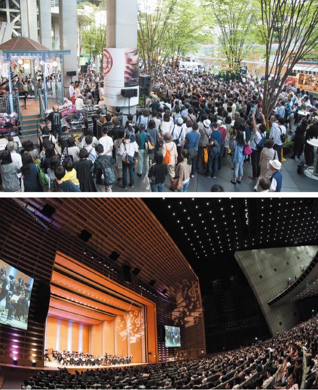 画像: コンサートホールだけでなく屋外コンサートも多数実施! ©teamMiura