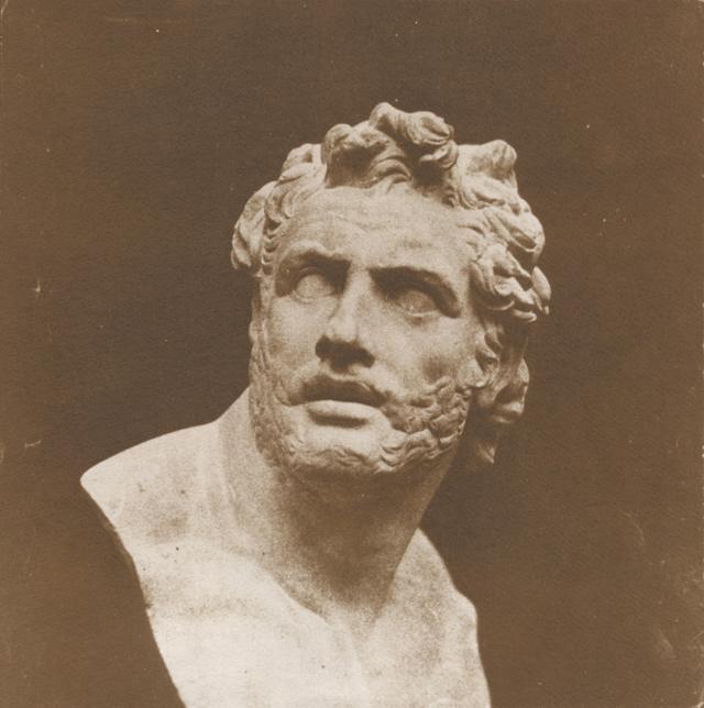 画像: 「自然の鉛筆」#5 パトロクロスの胸像