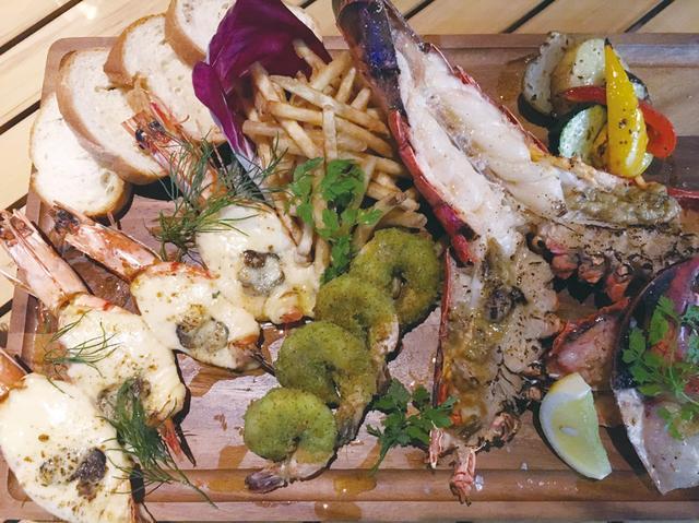 画像: R SHRIMP Combo〜3種海老料理のCombo(5980円)