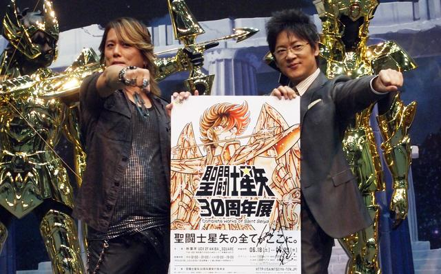 画像: Nob(写真左)と細川茂樹