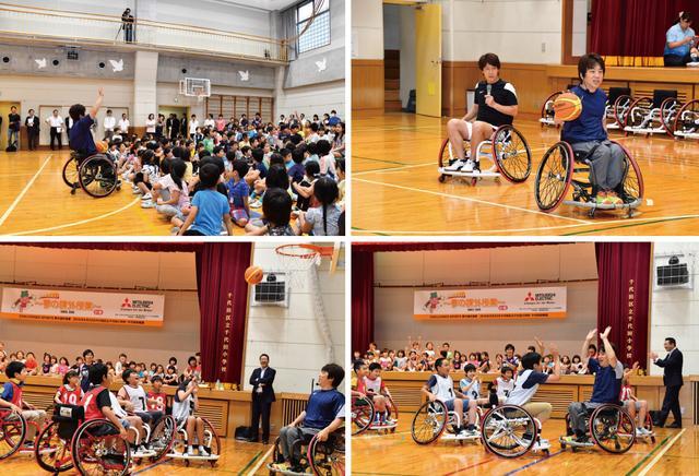 画像3: 【夢の課外授業】車椅子バスケのスピードと迫力に感動!