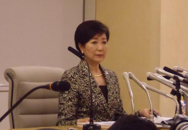 画像: 小池百合子氏が都知事選の政策発表 「都民の都民による都民のための都政をしっかりと取り戻す」