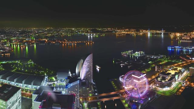 画像: 夜景スポットとしても人気の横浜で、地上273メートルからの絶景を眺めながら乾杯!