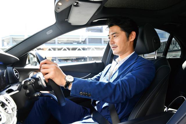 画像: 平山浩行が新型 E-Classから感じた「未来を見るために大切なこと」