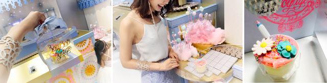 画像: FANTASTIC CUPCAKE FACTORY(体験料+カップケーキ+アイシングパーツ3つ付 き \¥1900)