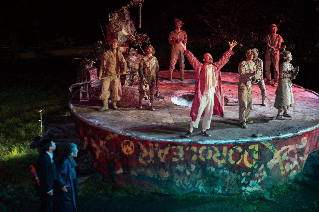 画像: 22年前、博多で上演された伝説の野外劇  風煉ダンス『スカラベ』を立川で再演