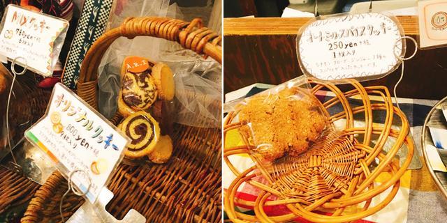 画像2: (オリジナルクッキー 800円/ オートミールクッキー 250円)