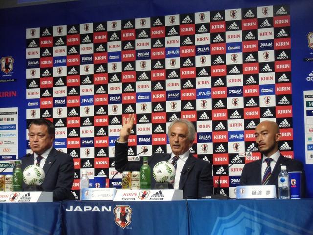 """画像: サッカーW杯最終予選メンバー発表 """"精神的支柱""""川島が復帰"""