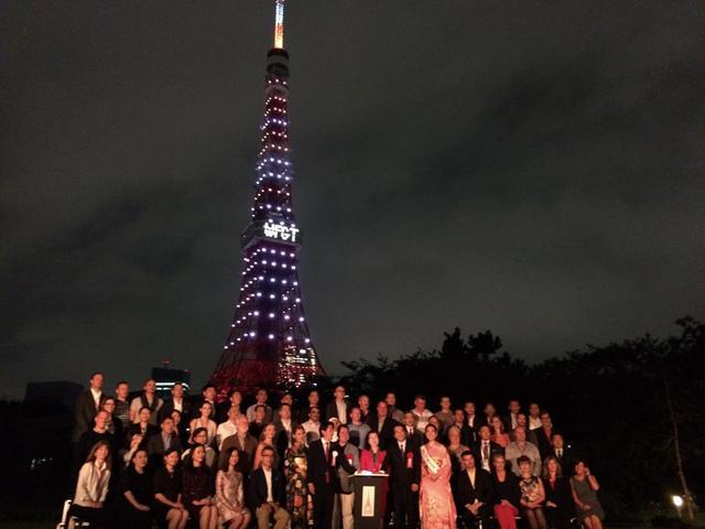 画像: 東京タワーで世界タワー会議