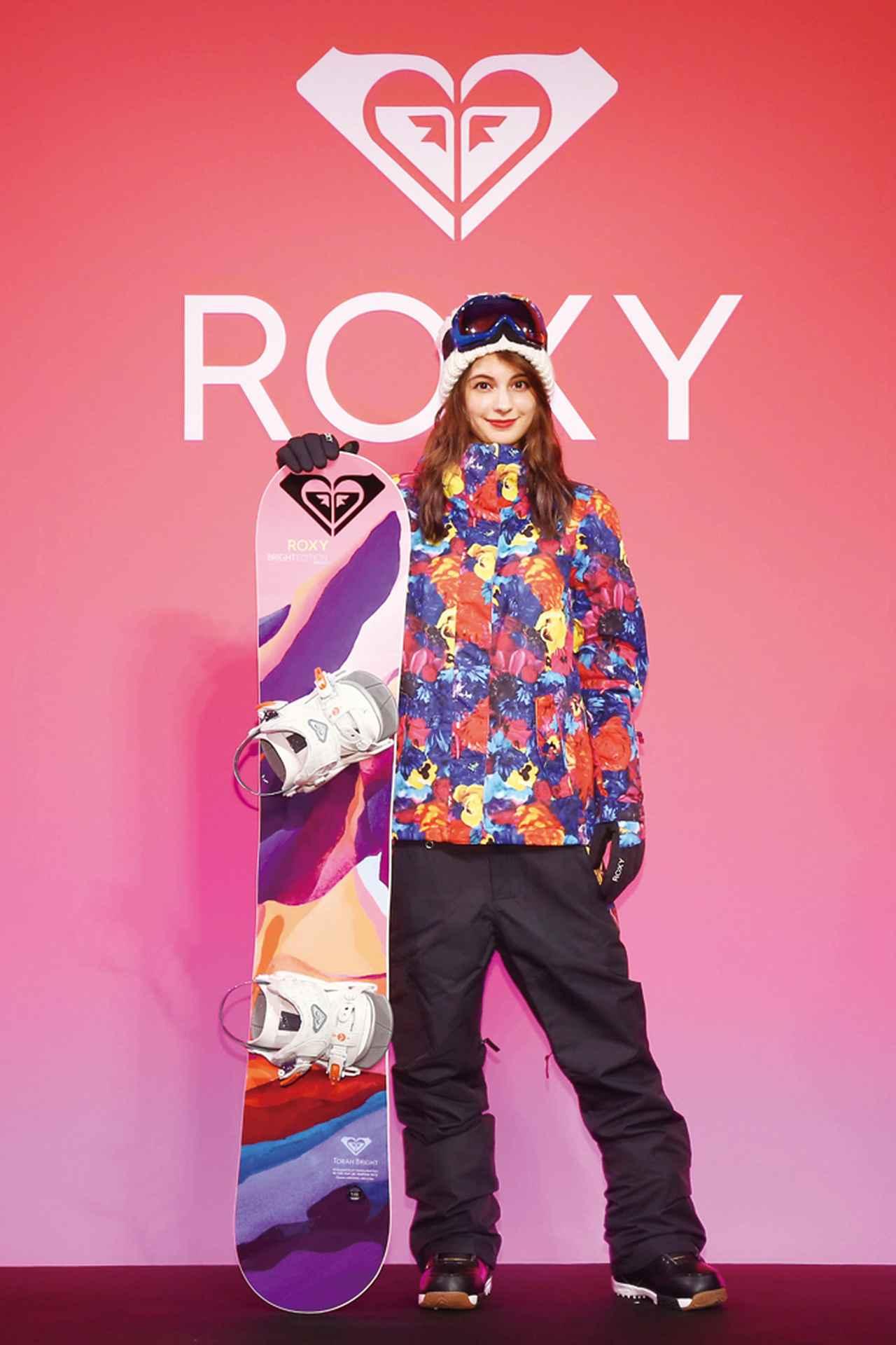 画像: ROXYが蜷川実花とコラボスノーウェア